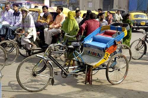 Cycle-rickshaws
