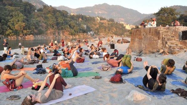 Rishikes yoga