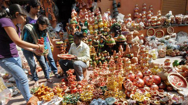 Lajpat-Nagar-diwali-market